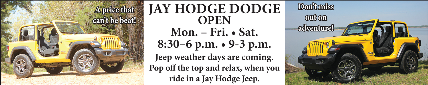 Jay  Hodge Dodge Open
