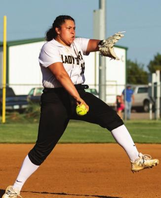 Dani Osage brings experience to Lady Buffs pitching crew...
